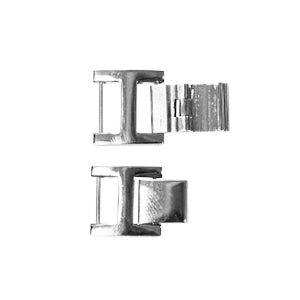 Stainless Steel Single Channel Clasps (534135373858)