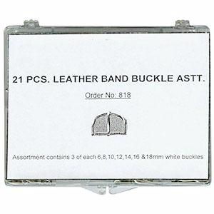 leather band buckle assortment