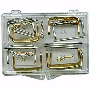 Oversize Stainless Steel Leather Buckle Assortment