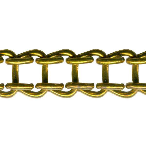 Ladder Clock Chain Brass 65 Links