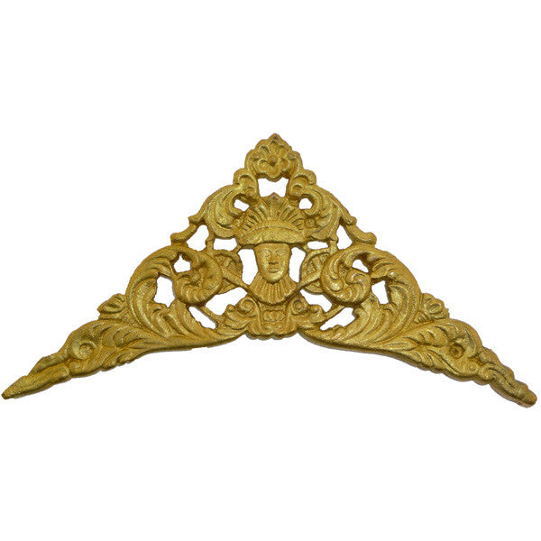 Spandrel Cast Brass