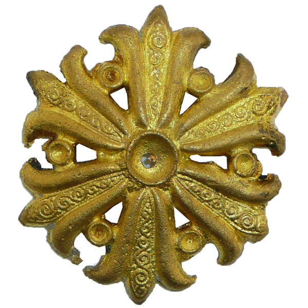 Ornamental Brass Button