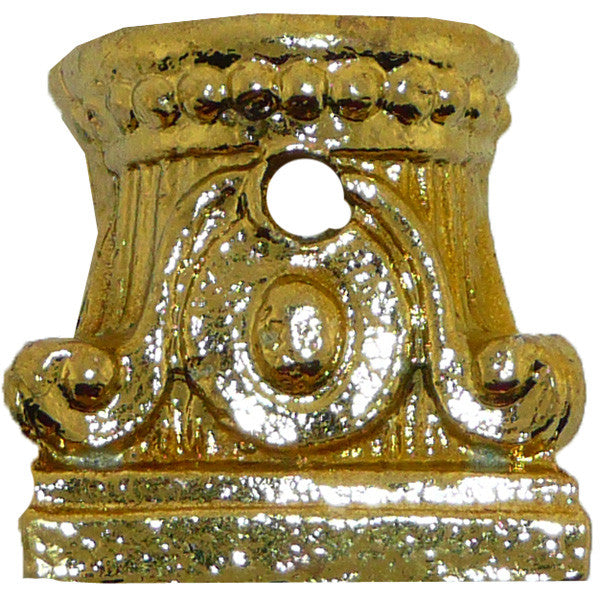 Column Holder 1/2 Small Brass
