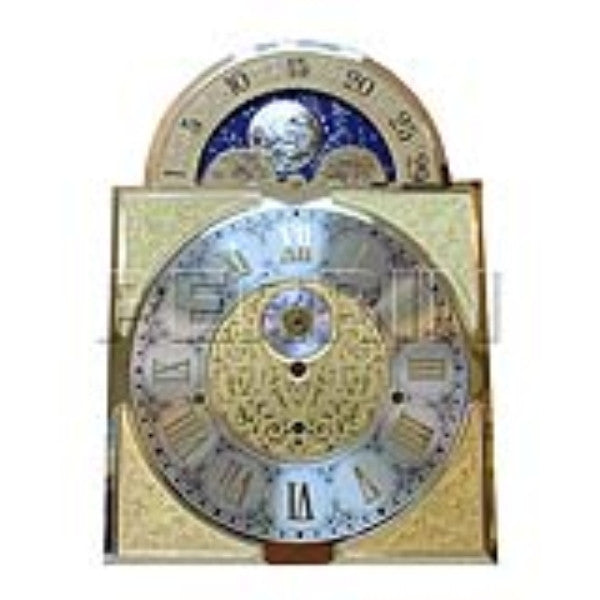 Clock Kit #5 Luxury Moon Phase Lyre Hermle 1161-853BS-114 (10593287631)