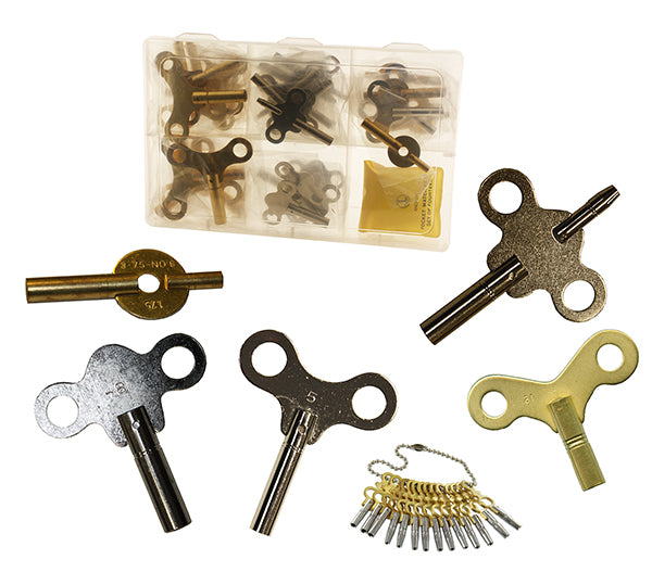 Clock & Watch Key Assortment