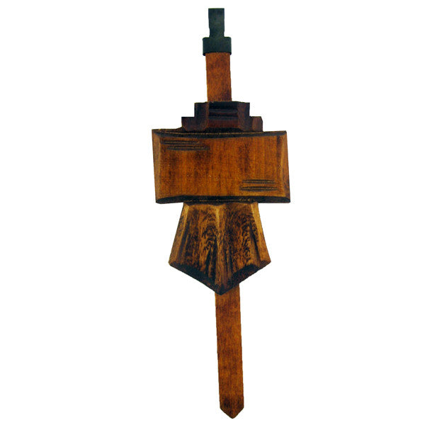 Brown 1 Day Chalet Pendulum