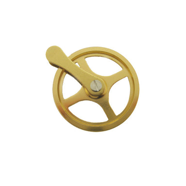 Hermle 241/781 Brass Pulley (10593189647)