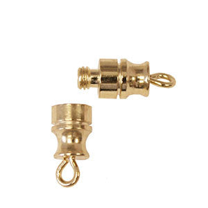 Barrel Screw Type Clasp