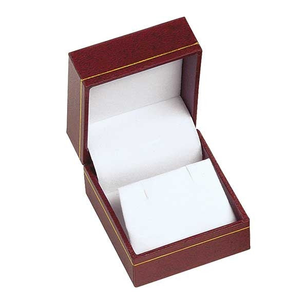 BX-3600-5-E Burgundy Earring Box