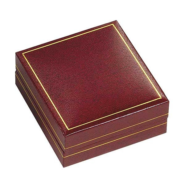 BX-3600-5-P Burgundy Pendant Box