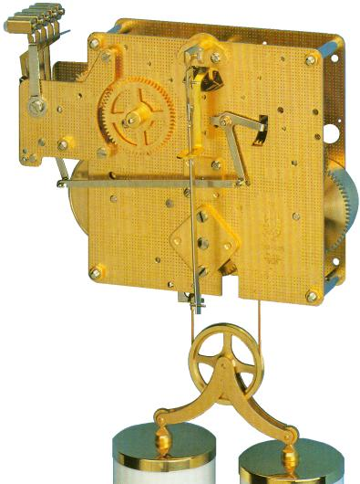 Hermle Clock Movement 351-830 (10593276751)