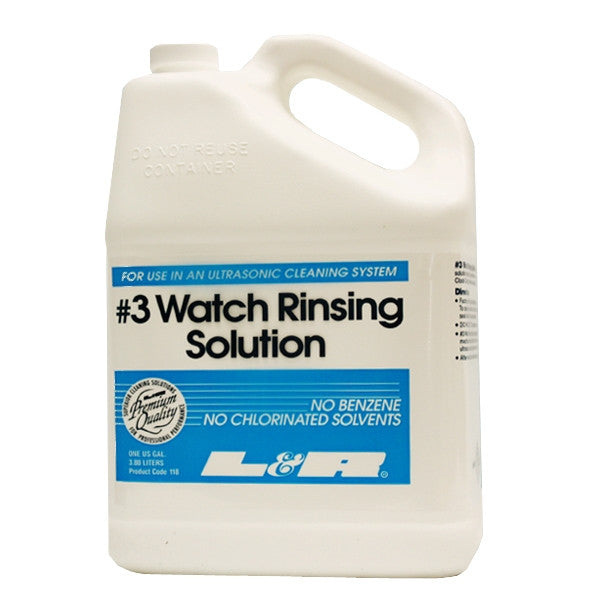 L&R 3 Watch Rinsing Solution