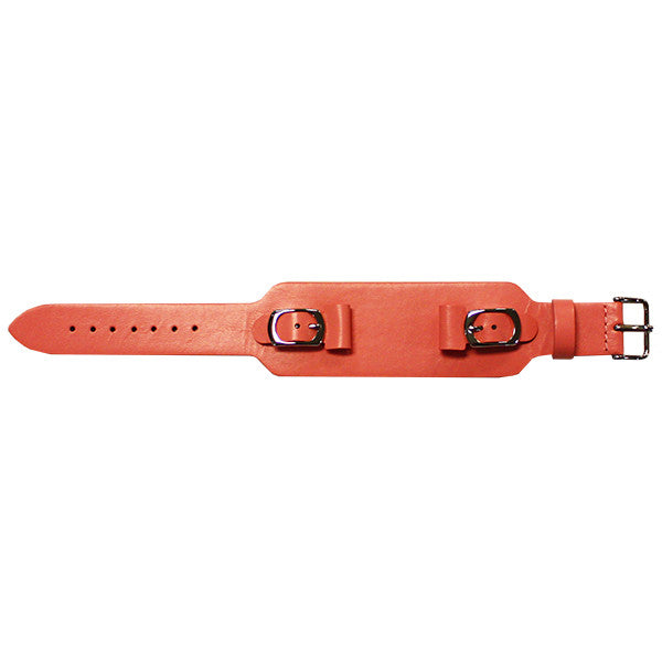181 Buckled Cuff Leather Watch Band (9318843908)