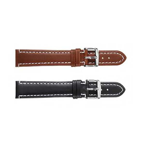 308L Stitched Oil Leather Watch Strap (9318847044)