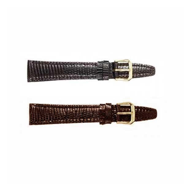 361 Lizard Padded Stitched Watch Strap