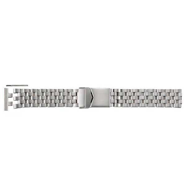 S596-20mm Straight End Metal Watch Band (9318913924)