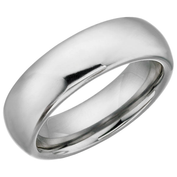 Traditional Styled Tungsten Ring TUR19