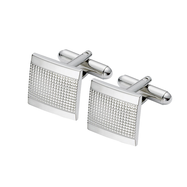 Square Patterned Cufflinks