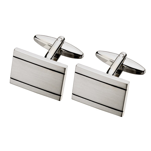 Double Lined Cufflink