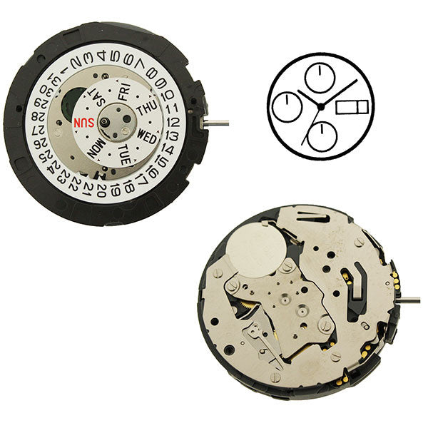 Miyota Watch Movement 0S00 (9345948804)