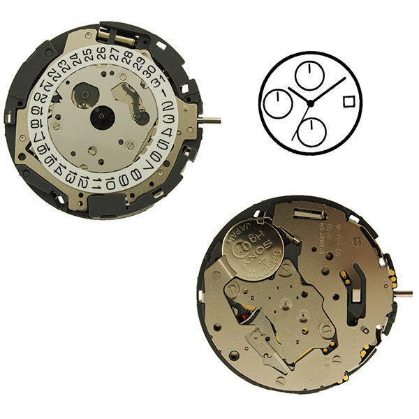 0S10 Watch Movement