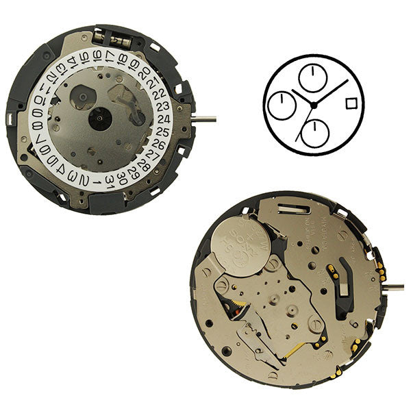 0S1A Watch Movement