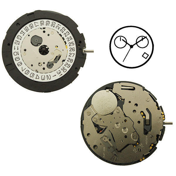 0S21 Miyota Watch Movements (9345950788)