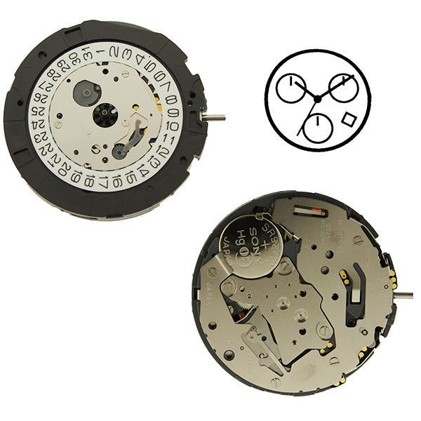 0S25 Watch Movement