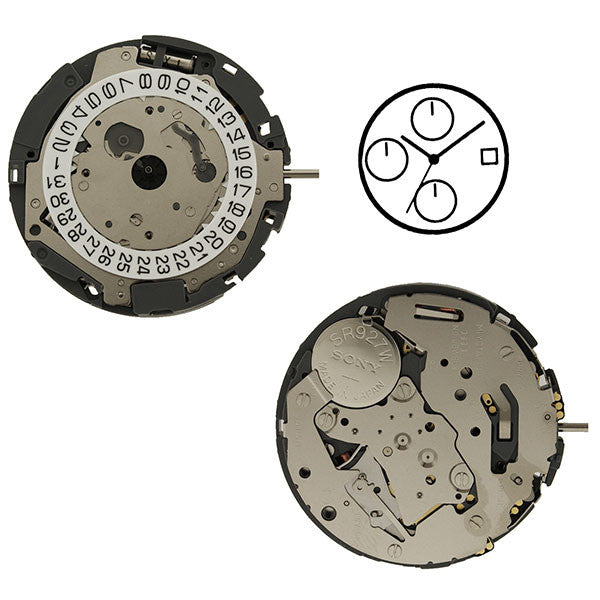 0S90 Watch Movement