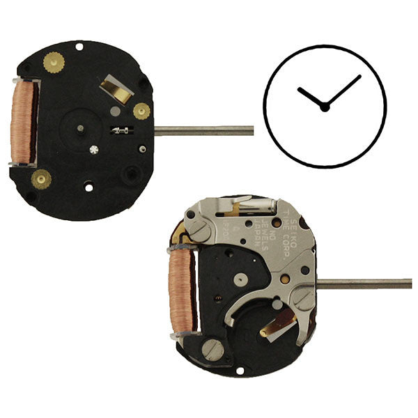 1F20 40 Seiko Watch Movement