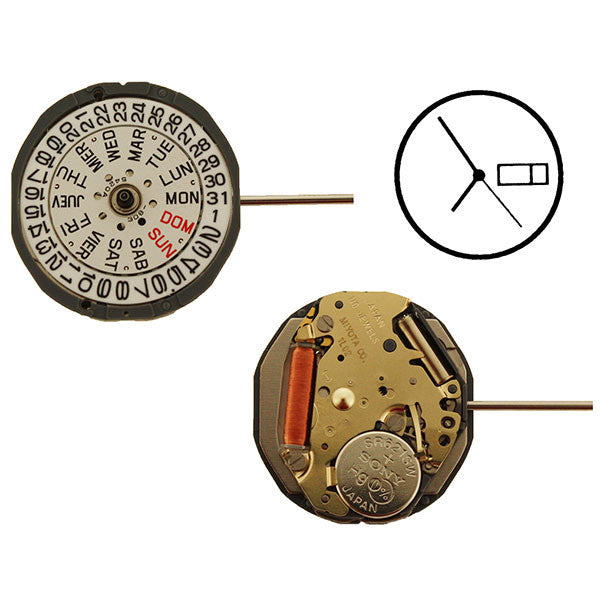 1L02 Watch Movement