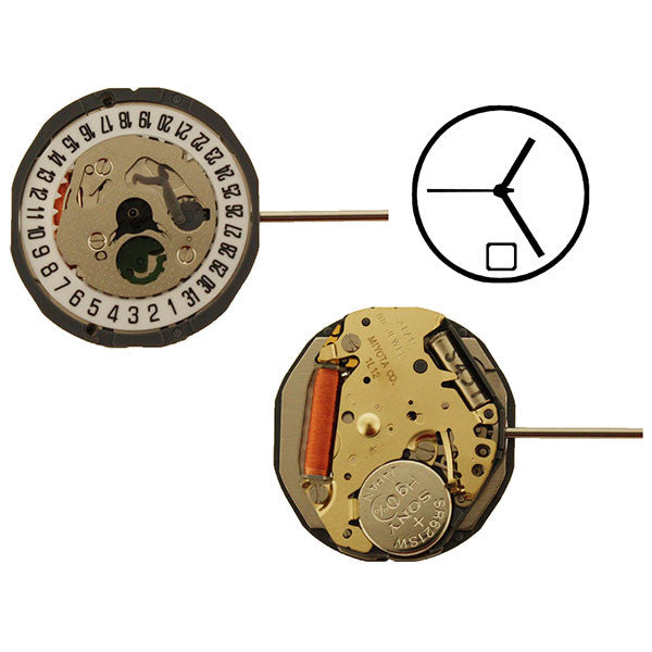 1L12 Date 6 Miyota Watch Movement