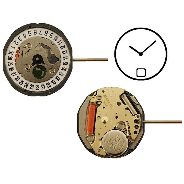 1L15 Date 6 Watch Movement