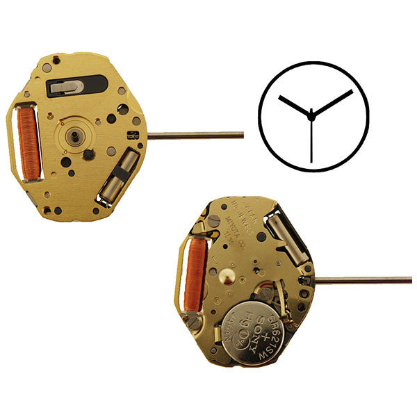 1L32 Miyota Watch Movement