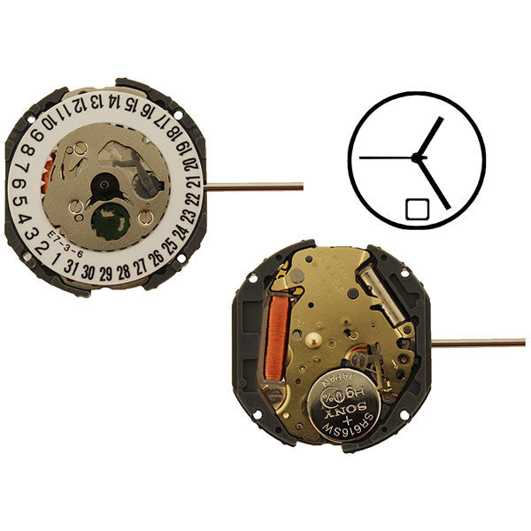 1N12 Date 6 Miyota Watch Movement (9345960772)