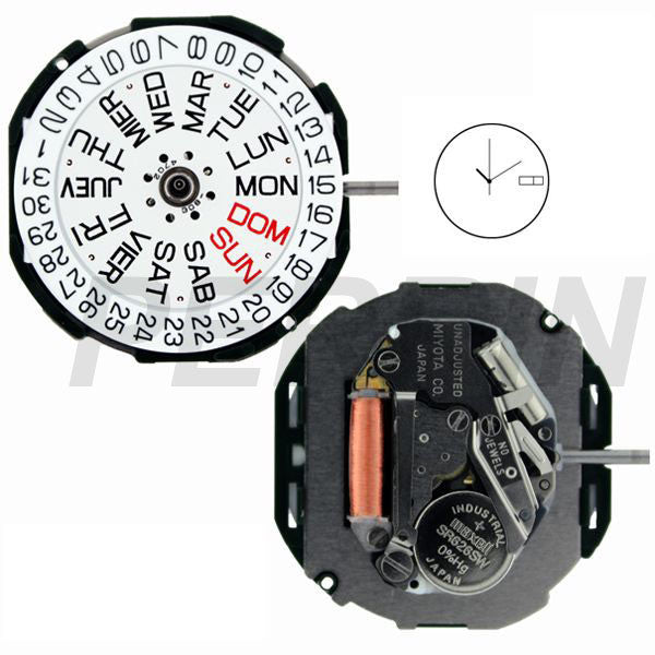 2105 Watch Movement
