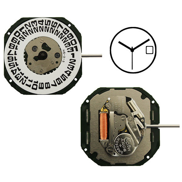 2353 Miyota Watch Movement