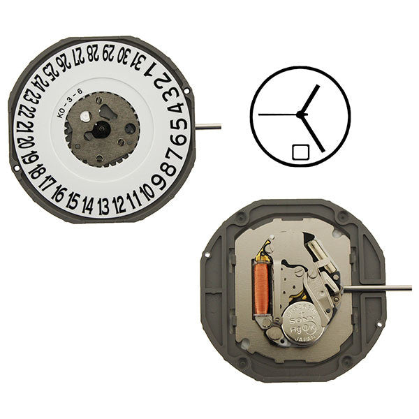 2415 Date 6 Miyota Watch Movement (9345969604)