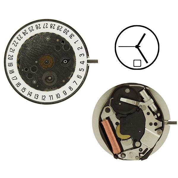ETA 400.111 Watch Movement