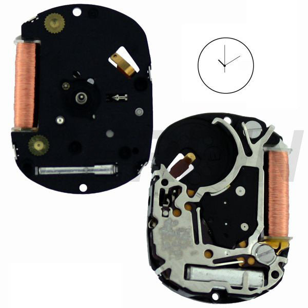 4N01 30 Watch Movement