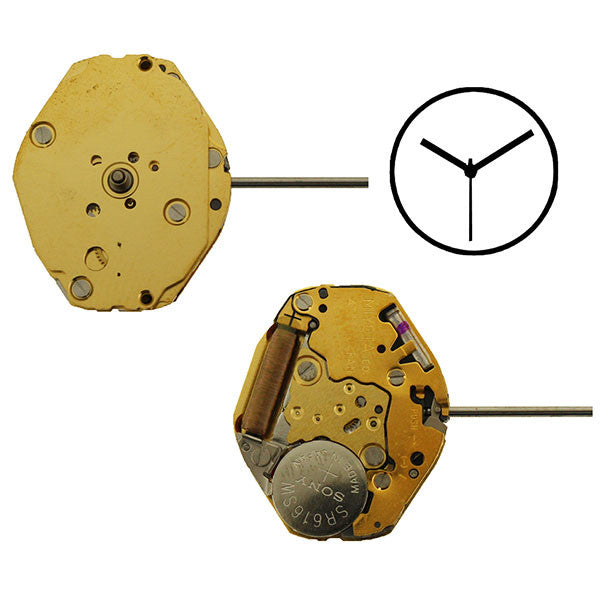 4T43 Miyota Watch Movement