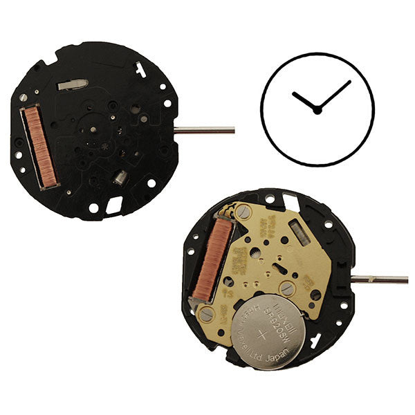 5520 Citizen Quartz Watch Movement