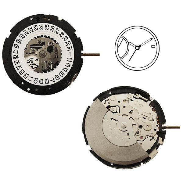 5D22 20 Seiko Watch Movement
