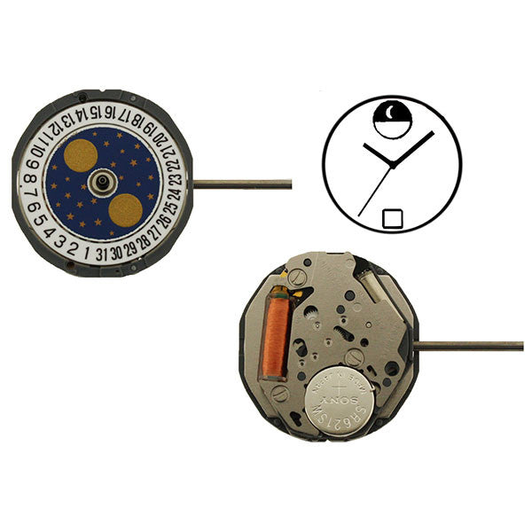 6L85 Miyota Watch Movement (9345987780)