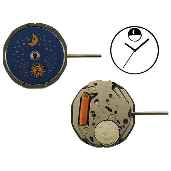 6L90 Miyota Watch Movement