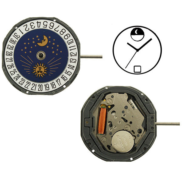 6M95 Miyota Watch Movement (9345989380)