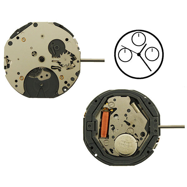6P05 Miyota Watch Movement (9345990020)