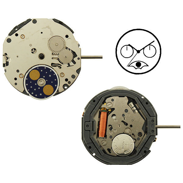 6P20 Miyota Watch Movement