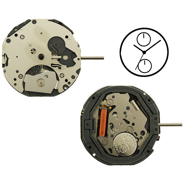 6P23 Miyota Watch Movement