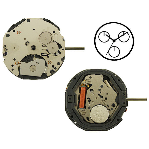 6P29 Miyota Watch Movement
